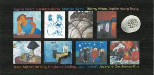 Expo collective sculpture peinture en Pologne - Lodz - Debilly, Skorka, Imhoff etc.