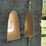 Au creux de l'ombre naît la lumière - Sculpture pierre Debilly